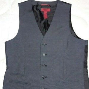 Alfani Slim Fit Men's Vest Grey Size Extra Small